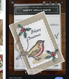 Stampin Up Christmas, Christmas Cards To Make, Christmas Sentiments, Alcohol Markers, Colouring Techniques, Card Making Tutorials, Cardmaking, Projects To Try, Happy
