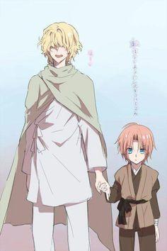 Ik-Su and Yun ♡   Akatsuki no Yona (Yona of the Dawn)