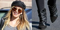 Hilary Duff Wears Her New Isabel Marant Boots for a Good Cause