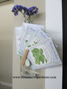 Pretty packets to plant