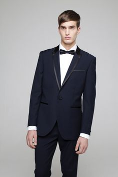 men's styling: Black Tie Event - primark navy tux