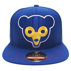 Get this Chicago Cubs Mammoth Snapback Adjustable Cap at ChicagoTeamStore.com