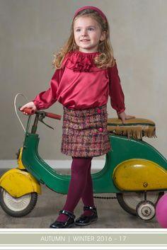 Mariella Ferrari – Collezione Autunno | Inverno 2016 - 2017 – www.mariellaferrari.it –  #Fashion #ModaBambini #AutumnWinterCollection #Vintage #Abbigliamento #AutunnoInverno