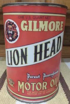 GILMORE Lion Head Motor Oil