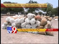 Jute bag scam in warangal cotton market yard