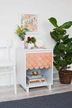 Scale back on boring furniture by adding this easy and affordable finish! | Pinterest: Natalia Escaño