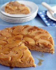 Apple-Cinnamon Upside-Down Cake