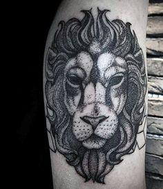 Guy's Leo Lion Tattoos