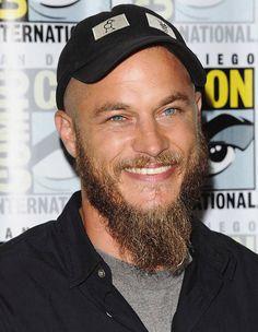 Ragnar Lothbrok, Travis Fimmel, Hubba Hubba, A Good Man, Bellisima, New Hair, Blue Eyes, Hairstyle, Actors