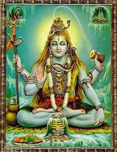 Shiva (Glückverheißender) ist einer der wichtigsten Götter des Hinduismus. Shiva ist unter unterschiedlichen Namen bekannt (z.B. Nataraja = König des Tanzes). Innerhalb der hinduistischen Trinität mit Brahma als Schöpfer und Vishnu als Bewahrer, stellt er selber den Aspekt der Zerstörung da. Außerhalb dieser Trinität verkörpert er jedoch das Ganze, sowohl Schöpfung wie auch Neubeginn, ebenso wie Erhaltung und Zerstörung.