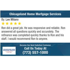 Ron did a great job. He was responsive and reliable...