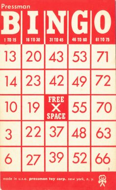 numbers - Collage Candy: Vintage Bingo cards and tickets Free Printable Bingo Cards, Printable Labels, Free Printables, Printable Vintage, Printable Letters, Handmade Greetings, Greeting Cards Handmade, Vintage Ephemera, Vintage Clip