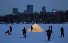 The City of Lakes Loppet is a festival of cross country skiing and winter activities for the whole family.
