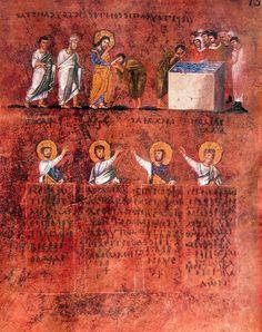 Calabria-Arte e Cultura-Codex Purpureus Rossanensis-Tav.11