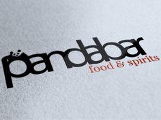 A logo design I am working on for a fancy restaurant & bar, called Panda Bar.