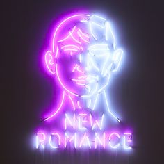 graphic design for exhibition - New Romance - studio fnt