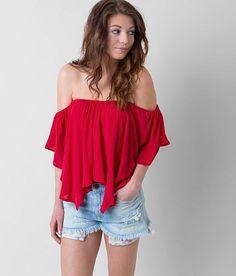 9f0a8f3fb9e Free People Merpati Top - Women's Shirts/Blouses in Poppy | Buckle