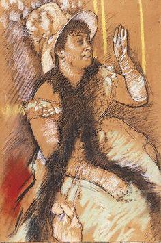 Portrait of Madame Dietz-Monnin, by Edgar Degas (French, 1834–1917).