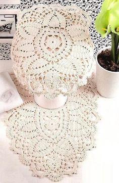 Delicadezas en crochet Gabriela: BAÑO COMPLETO