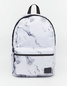 Buy ASOS Backpack in Marble Print at ASOS. With free delivery and return options (Ts&Cs apply), online shopping has never been so easy. Get the latest trends with ASOS now. Cute Backpacks For School, Cool Backpacks, Teen Backpacks, Bags For School, Leather Backpacks, Leather Bags, College Backpacks, Back Packs School, Popular Backpacks