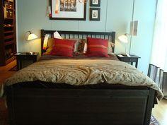 Hemnes Bed Frame Black Brown Pinterest Frames And Solid Wood