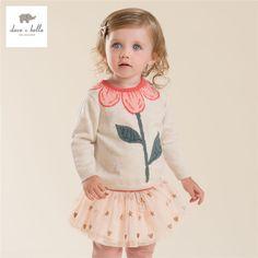Aliexpress.com: Compre DB4013 dave bella outono bebê menina doce camisola projeto blusas criança infantil roupas de menina camisola suave de alta qualidade de confiança camisola zíper fornecedores em DAVEBELLA Official Store
