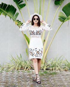 E o tanto que amei esse dress e essa produção @itemtres ?!  #rafinhagadelha #ootd #look ph: @igoormelo