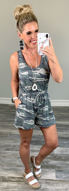 Command Attention Camo Romper - privityboutique    #streetstyle #cozy #casualstyle #ootdfashion #style #ootd #summerfashion #flannel #blogger #travel #vacationstyle #fashionlover #fashionblogger #summerstyle #boutiquefashion #womensfashionoutfit #summeroutfit #dress #layeringdress #casualstyle #casualfashion #joggers #comfyoutfit #kimono #swimwear #homefashion #summervibes #womensfashion #onlineshopping #onlineboutique Maxi Romper, Romper Outfit, Playsuit, Ootd Fashion, Fashion Boutique, Womens Fashion, Vacation Style, Camo Print, Affordable Fashion