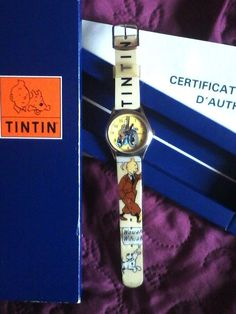 tintin watch