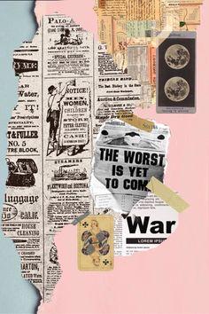 collage newspaper scrap paper news. Newspaper Wallpaper, Newspaper Collage, Newspaper Background, Vintage Newspaper, Collage Background, Wall Collage, Aesthetic Pastel Wallpaper, Aesthetic Wallpapers, Instagram Frame Template