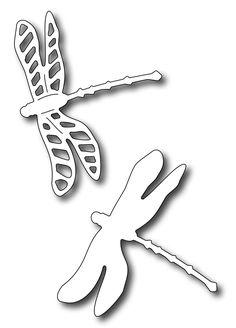 *PRE-ORDER* Frantic Stamper Precision Die - Dragonfly Pair (set of 2 dies),$8.99