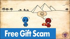 Free Gift Scam - Safety Scouts Advice - Episode 21 [HD,4K]