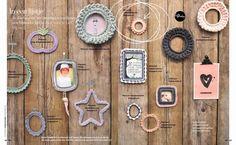 Haken voor kinderen: 101 Woonideeën: ons fotolijstje in het Haakboekje