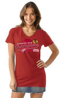 Touch by Alyssa Milano Cup Champs v-neck