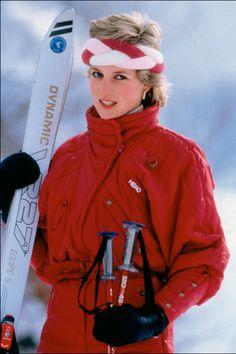 ダイアナ妃オードリーetc.レトロなスキーファッションのミューズたち