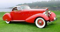 1934 Packard V-12 Speedster Lebaron