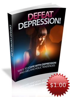 Defeat Depression Learning About How To Defeat Depression Can Have Amazing Benefits For Your Life And Success! Discover ways to cope with depression and melancholic tendencies! Depression and anxiety particularly have become so prevalent that it's exceedingly common for individuals to be taking medication for one or even both of these mood disorders.