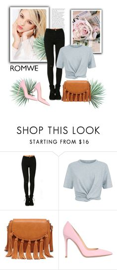 """""""Untitled #166"""" by ell-1997 ❤ liked on Polyvore featuring Silvana, T By Alexander Wang, Sole Society, Gianvito Rossi and Agave"""