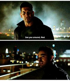 Punisher See you around Red daredevil season 2