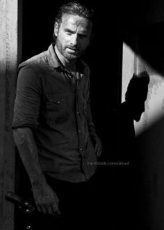 Andrew Lincoln, Rick Grimes of The Walking Dead