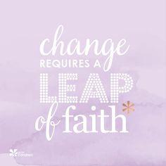 Go ahead, take a LEAP! #ErinCondren #ECquotes #quotes
