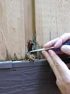 How To Replace The Bottom Section Of A Rotted Door Frame