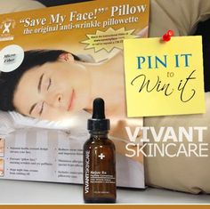 Follow @Hsiao-Ming Ma Skin and Pin this Pic to win a #savemyface pillow! Could use since I'm a side sleeper!