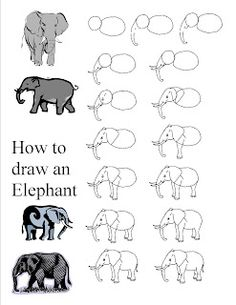 How to draw animals easy step by step instructions on for How to draw flo