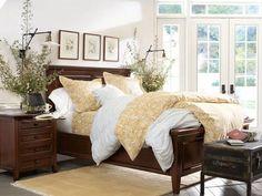 rug under bed Bedroom Design Inspiration & Bedroom Décor Inspiration   Pottery Barn