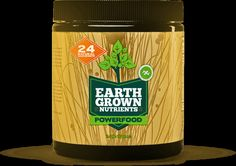 """Earth Grown Nutrients is a daily freeze-dried greens mix containing Organic Kale and many other """"superfoods"""" that I recommend and use myself."""