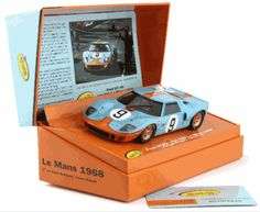 Slot It SICW16 Ford GT40 1968 LeMans winner [SICW16] - $79.95 : Electric Dreams, New and Vintage Slot Cars