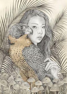 Elly Liyana Ruslan Illustrations. Meditative Illustrations On...