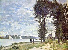 Les bords de la Seine à Argenteuil (C Monet - W 221) | by photopoésie
