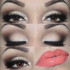 Soft Neutral Look